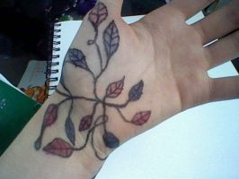 My tatoo (JK its just pen and marker) by SCOURGESBABE
