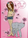 L'elephante by damselindisdress