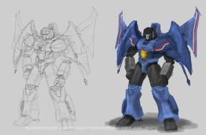 Thundercracker Study Sketch by kurisama