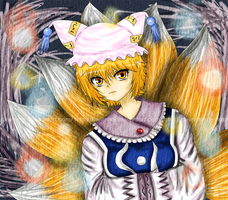 Touhou Project: Ran Yakumo by CryogenicCereal