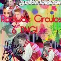 Pack 6 circulos png de Justin Bieber by polybieber