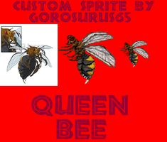 Custom Queen Bee Sprite by Gorosaurus65