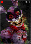 Bonnie The Creepy Ass Bunny by ToxicSoul77