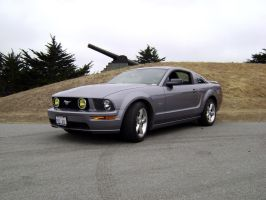 Mustang GT Tungsten Grey by Partywave