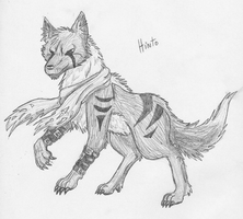 Free Sketch - Hinto by TaoKyuubimon