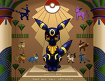 The Temple of Umbreon by TikkiLink