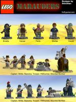 LEGO - Iron Grip: Marauders - infantry units by Stitchfan