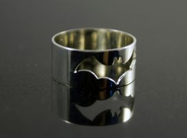 Batman Ring by obsidiandevil