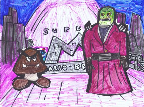 Goombas by SonicClone