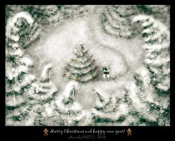 Christmas Card by Anuk