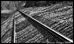 On the train tracks by xXForeverImagesXx
