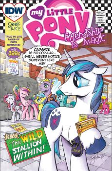 MLP issue 12 Original presentation, unedited. by andypriceart