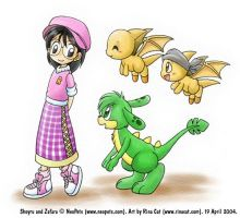 NP: Rina and her neopets by rinacat