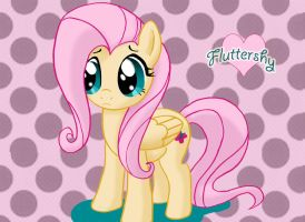 Fluttershy Fan Art by Quietstorm21