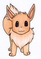 eevee by Baka-customs