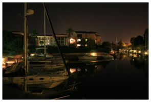 Night Harbour 2. by bwaa