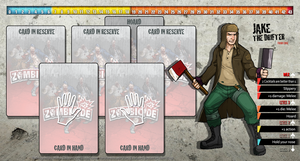 Zombicide Redesigned Character Sheet - Jake by ZAQUARD