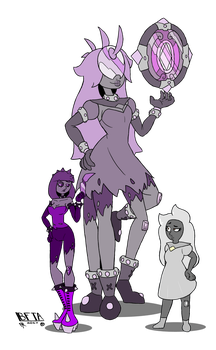Gem Fusion - Musgravite by B-F-T-A
