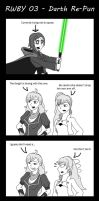 RWBY 4Koma 3 - Darth Re-Pun by Steel--The--Gamer