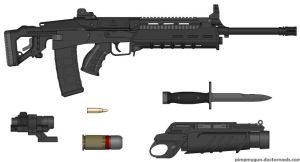 TCR tactical combat rifle by ace6791