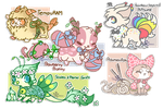 :Designs for Sale(close) by PrePAWSterous