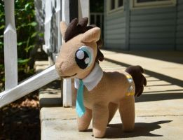 Small dr whooves plush by algun12