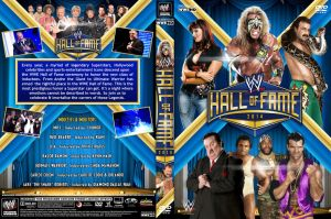 WWE Hall of Fame 2014 DVD Cover by Chirantha