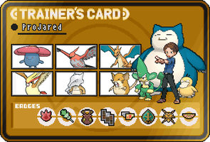 ProJared Trainer Card by OkaMilan