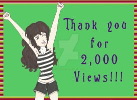 Thank You for the 2000!!! by ChiisaiKabocha17