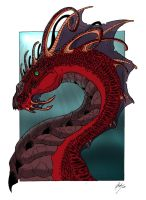Dragon - coloured by Bosshamster