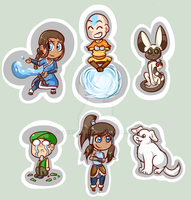 AVATAR CHIBIS by Eversparks