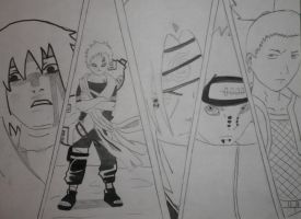my top 5 naruto characters by crowshot27