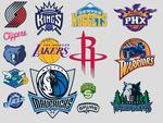 NBA Western Conference Icons by KneeNoh