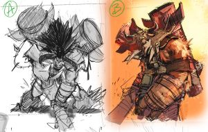 Baine Roughs by LudoLullabi
