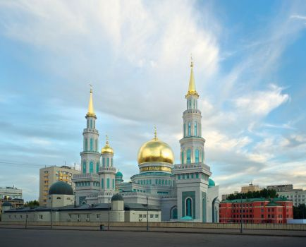 Moscow Cathedral Mosque by Koobassoff