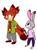 Nick You Okay by Cookie-and-her-foxes