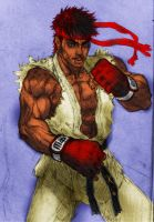 Ryu from street fighter by DraserkerX