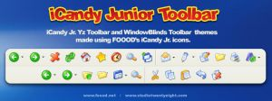 iCandy Jr. Yz & WB Toolbar by javierocasio