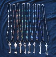 Kingdom Hearts Keyblade Necklaces Set 2 by RebelATS