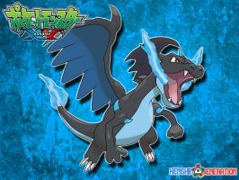 Mega Charizard X by HenshinGeneration