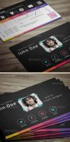 X Business Card by khaledzz9