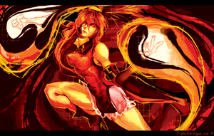 Guilty Gear - Fire Woman by lightning-seal
