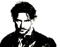 Alcide Herveaux (True Blood) by AmbitiousOutsider