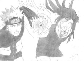 Naruhina : Rasengan Lion Fist by MKOVcool