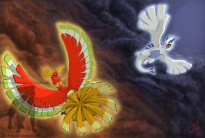 HeartGold and SoulSilver by PrinzeBurnzo