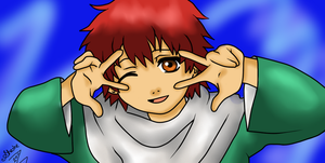 Young Sasori - Peace by ShesheTheDiclonius