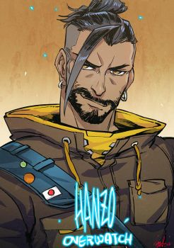 2016 1221 hanzo by evilwinnie