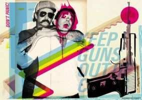 KEEP GUNS OUT by dontpanicmedia