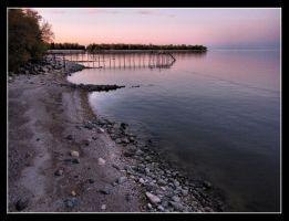 Sunset Silent Shore by CitizenOlek