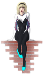Spider-Gwen by MellowWings